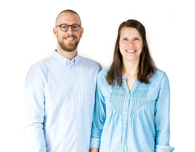 Gero Rühl und Eva Rühl in der Praxis biomedi in Oberursel